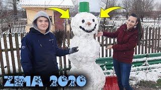 Ulepiliśmy Bałwana z NARZECZONĄ! ☆Naprawa w Samochodu ☆Spadł Pierwszy Śnieg!