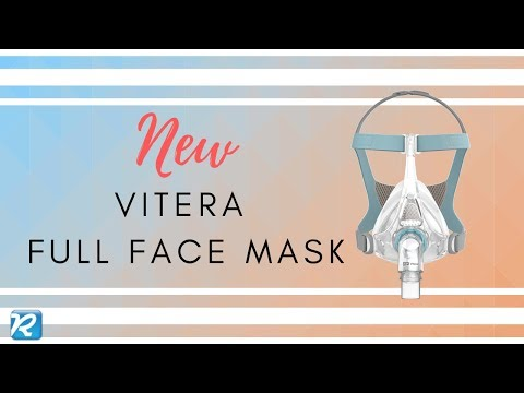 Vitera Full Face CPAP Mask By Fisher & Paykel // Vitera Review