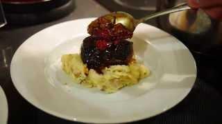 I Cook - Pan Fried Venison With Raspberry Sauce, Celeriac & Potato Mash With Broccoli