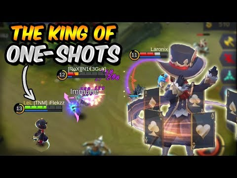 HARLEY ONE SHOTS EVERYONE?! (EVEN TANKS!) MOBILE LEGENDS