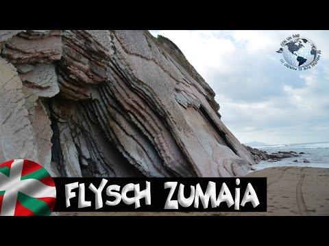 Flysch Zumaia, Geoparque de la Costa Vasca - Basque Coast Geopark. Gipuzkoa 2015