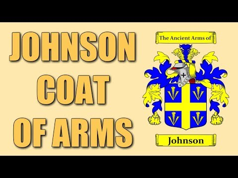 Johnson Coat of Arms - Family Crest - YouTube