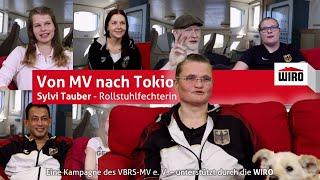 Von MV nach Tokio - Rollstuhlfechterin Sylvi Tauber