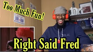 🤣 FIRST TIME HEARING Right Said Fred - I'm Too Sexy • REACTION!!!