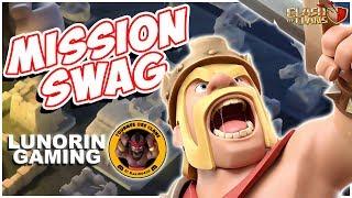 MISSION SWAG - QUI FERA LE PLUS GROS SWAG | CLASH OF CLANS