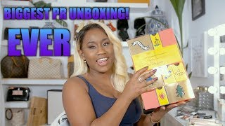 THE BIGGEST CHRISTMAS PR UNBOXING! CHRISTIAN LOUBOUTIN,GIVENCHY,  L