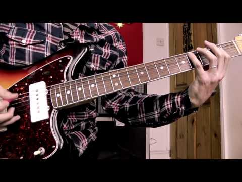 How to Mix Rhythm & Lead in a 12 Bar Blues | Guitar Lesson