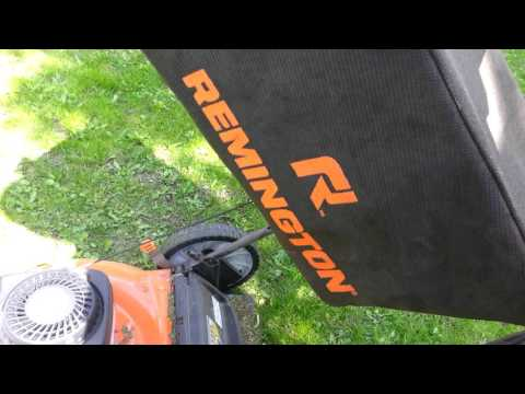 "Remington RM105 21"" Mower 140cc"