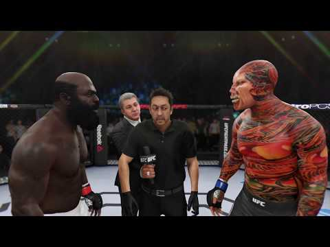 Kimbo Slice Vs. Nemesis (EA Sports UFC 3) - CPU Vs. CPU - Crazy UFC 👊🤪