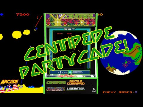 Arcade1up Centipede PartyCade! (Re-upload) from ArcadeUSA