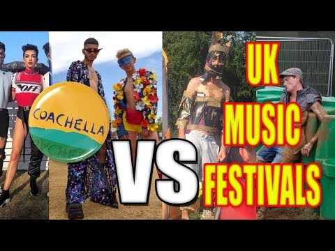 Coachella VS UK Music Festivals
