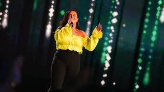 Paulina Pancenkov sjunger Bleeding love av Leona Lewis i Idols kvalvecka 2020 - Idol Sverige (TV4)