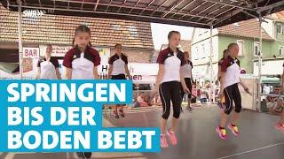 Seilhüpfen, bis die Socken qualmen | Landesschau Baden-Württemberg