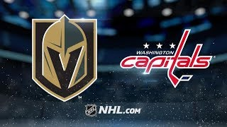 Vegas Golden Knights vs Washington Capitals – Oct.10, 2018 | Game Highlights | NHL 18/19 | Обзор