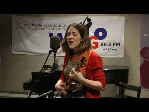 Becca Stevens performs Well Loved live (for the first time) on WBGO's Singers Unlimited