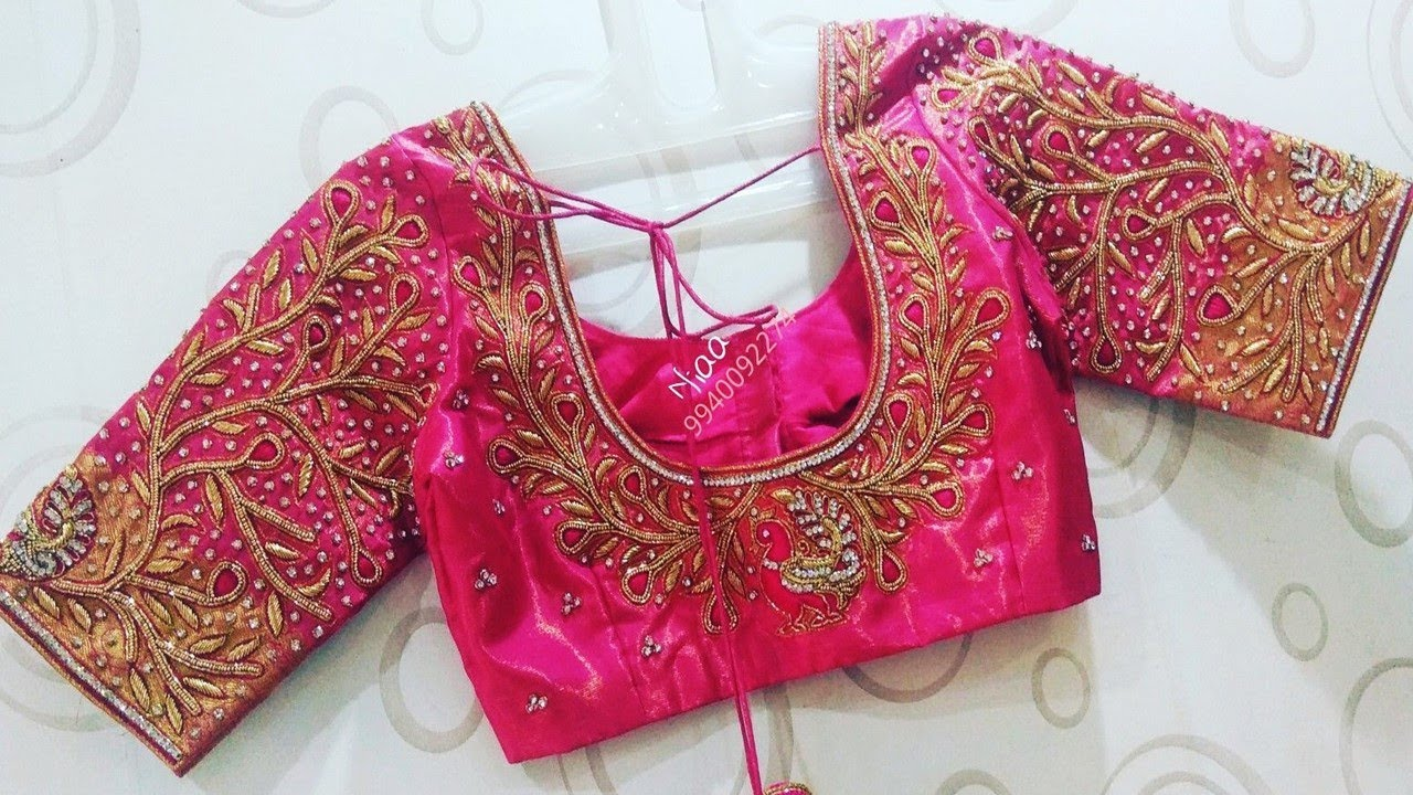 Simple Pattern And Work Blouse Designs 2019 | Indian Blouse Design 2019