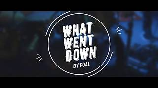 What Went Down by Foals (Lyric Video)