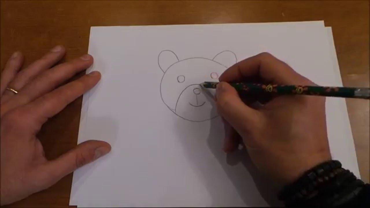 Disegni per bambini gatto orso topo capitan canaglia for Disegno orso per bambini