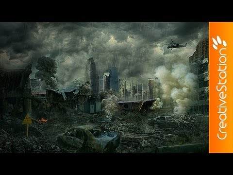 Post Apocalypse - Speed Art ( #Photoshop CS5 )   CreativeStation