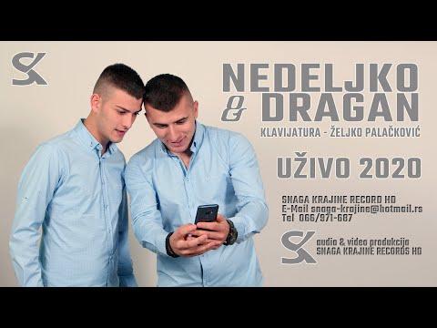 Nedeljko i Dragan - Mogla bi se glava izgubiti - Mix (Uživo 2020) - Snaga Krajine Records HD