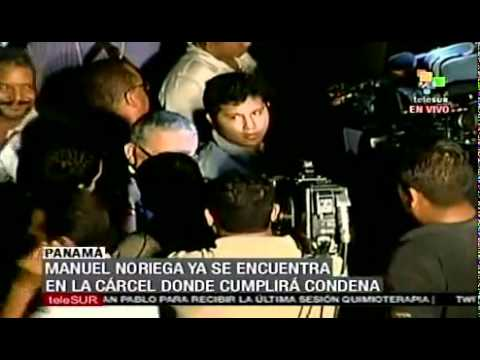 After extradition, Noriega denies responsability of the dead
