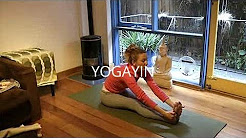 YOGA for a BACK PAIN & SPINA BIFIDA with YogaYin