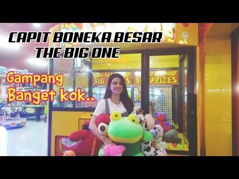 Mudahnya Main Capit Boneka Besar Timezone (The Big One) di Plaza Pondok Gede Bekasi