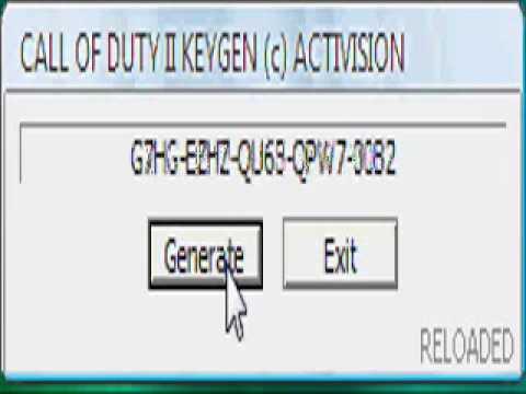 Cod 4 key code generator