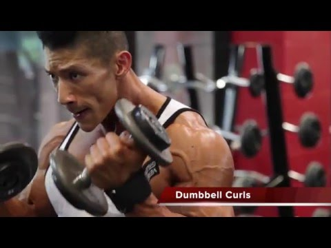 BIS & DELTS WORKOUT WITH IFBB PRO John Nguyen