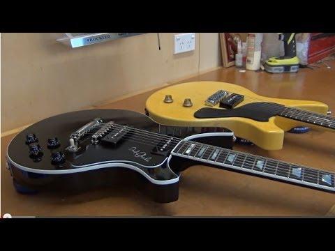 Building A Gibson Les Paul Junior Style Guitar - Part Five