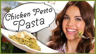 Ingrid Dishes | Chicken Pesto Pasta | Recipes From Missglamorazzi