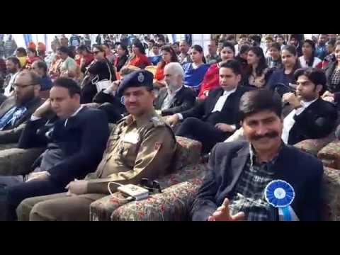 Legal awareness camp at SKUAST  R. S. Pura Jammu