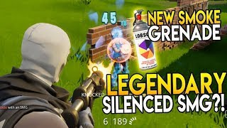 NEW SMOKE GRENADE!! PATCH 1.1.9 - FORTNITE BATTLE ROYALE