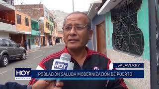 Salaverry: Población saluda modernización de puerto