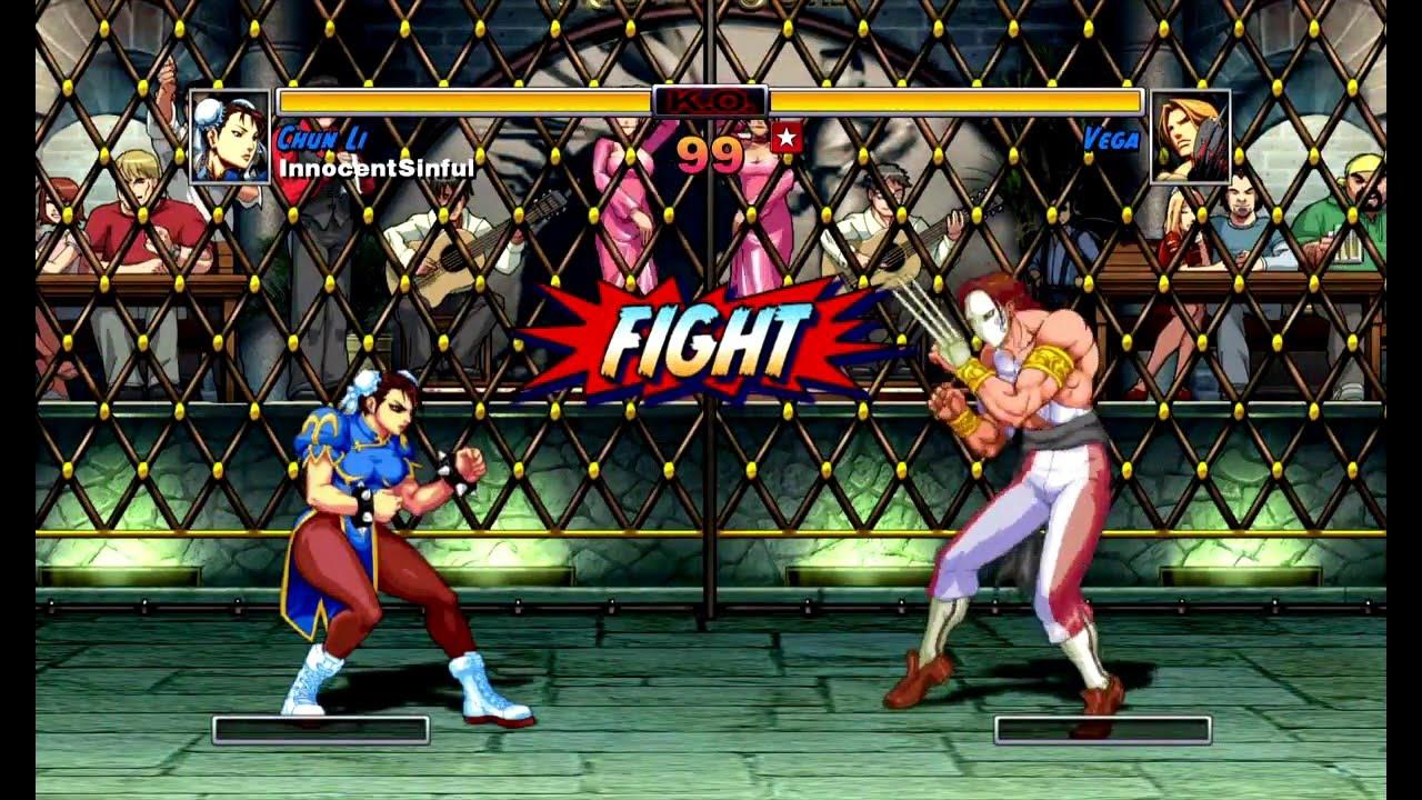 Super Street Fighter Ii Turbo Hd Remix Xbox Live Arcade Arcade As Chun Li