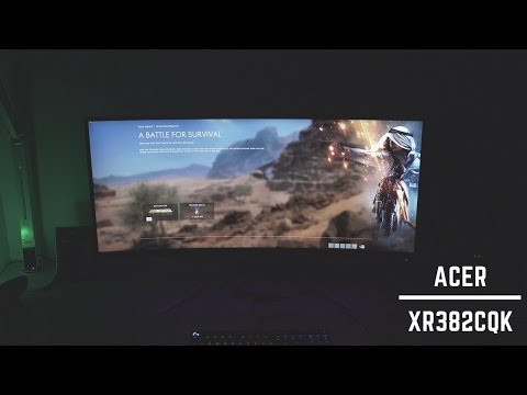 Acer Predator XR382CQK UltraWide QHD Gaming Monitor Review