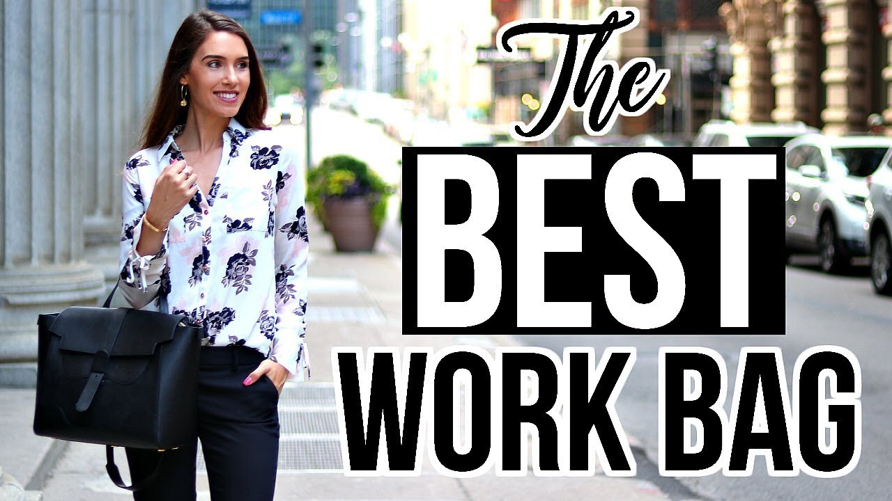 THE BEST WORK BAG!  Review & Organization Tips