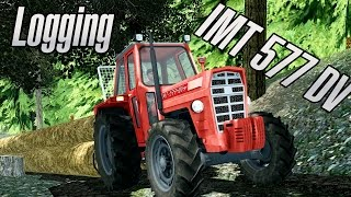 Farming Simulator 2013 - Forest - Logging - IMT 577 DV(Back to Farming Simulator 2013 .... haha lol .. log towing with IMT 577 DV. Music by NCS. Winch:: ..., 2015-06-21T16:40:27.000Z)