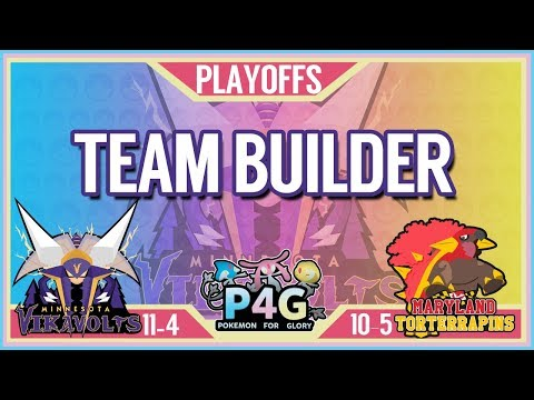 Minnesota Vikavolts Team Building P4G S2 PLAYOFFS: VS Maryland Torterrapins | Pokemon Sun and Moon