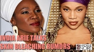 Did India Arie Bleach Her Skin? | BET Awards 2013 | MadameNoire