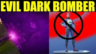 "The New ""Dark Bomber"" Skin In Fortnite Battle Royale ( Evil Brite Bomber !!)"