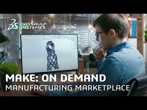 Make: On Demand Manufacturing Marketplace for 3D Printing
