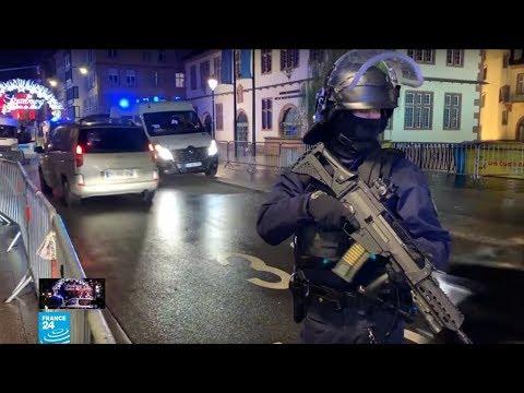 اللحظات الأولى لهجوم ستراسبورغ الدامي في فرنسا  - نشر قبل 9 دقيقة