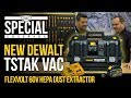 New DeWalt TSTAK Flexvolt 60V Max HEPA Dust Extractor Vacuum DCV585