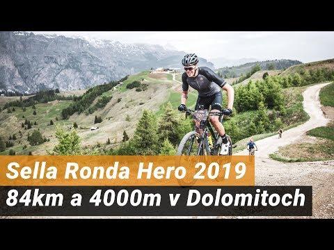 Sella Ronda Hero 2019 - 84 Km S Prevýšením 4000 M V Dolomitoch