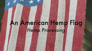 An American Hemp Flag -  Hemp Processing