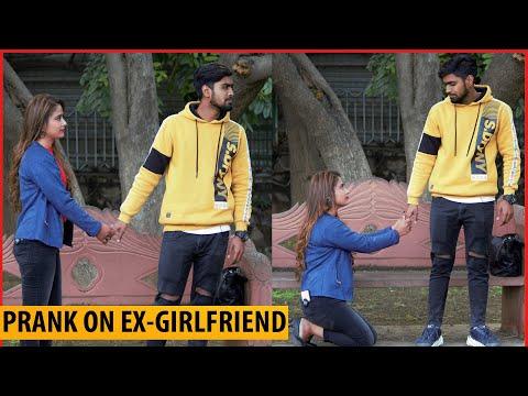 Prank On Ex-Girlfriend ( Gone Emotional )    Rishabh Pranks