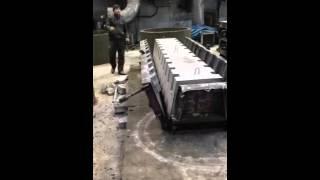 видео бетонные лотки