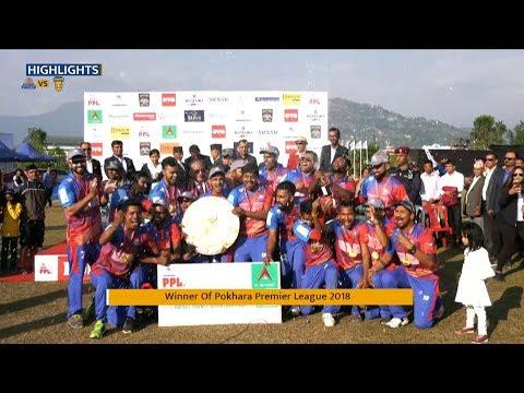 PPL FINAL MATCH HIGHLIGHTS : CHITWAN RHINOS VS POKHARA PALTAN