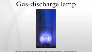 Gas-discharge lamp Mp3